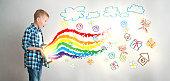 Kid's creativity with digital technologies
