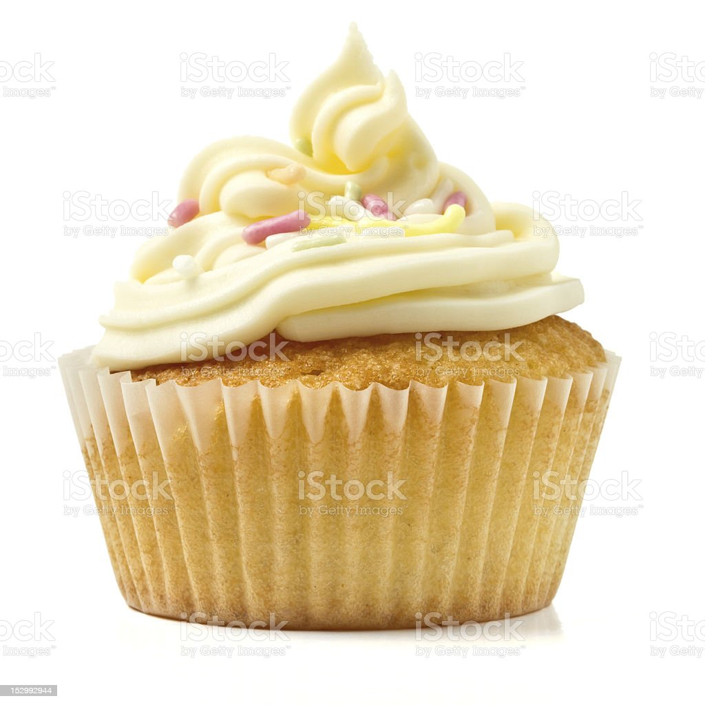 Kids Cupcake stock photo
