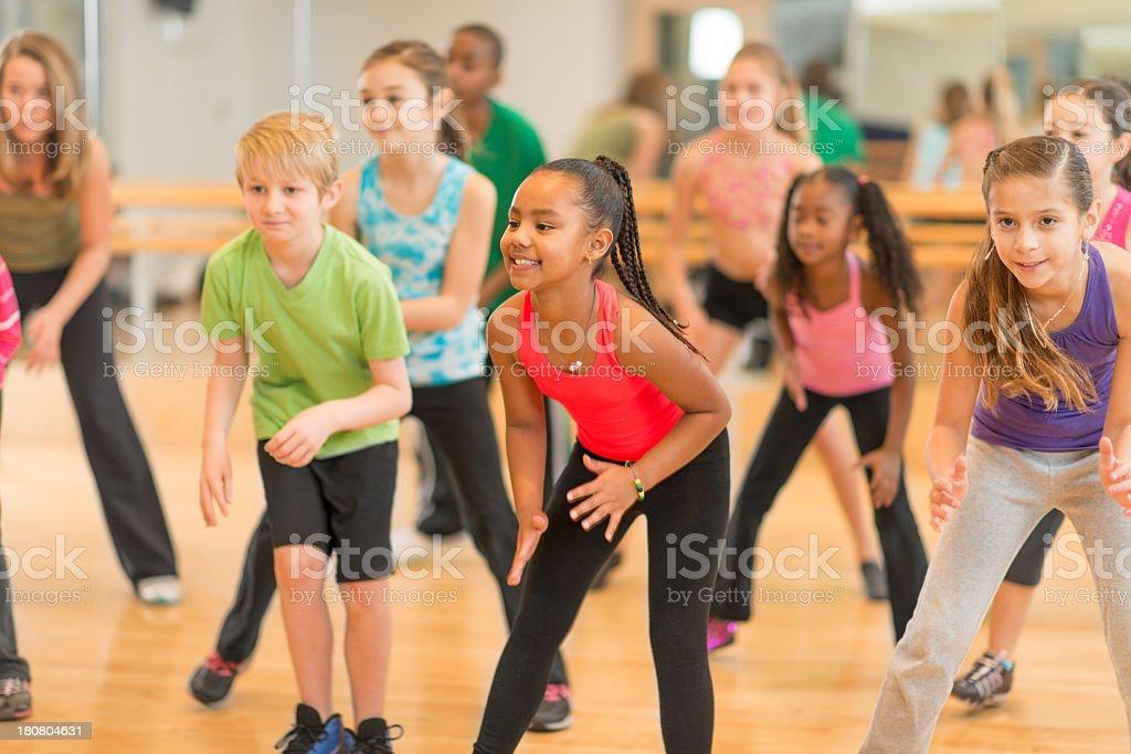 Kids Dance Class stock photo