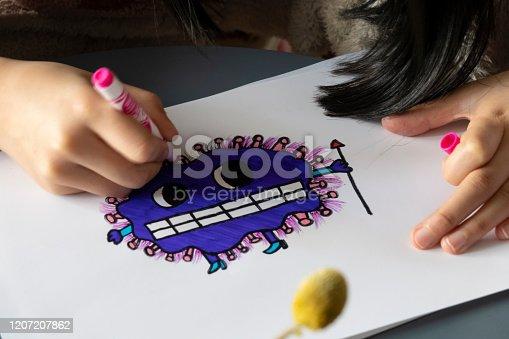 Drawing virus