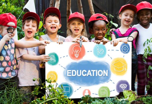 Kinder Bildung wissen Exkursion Sommer Camp Grafik – Foto
