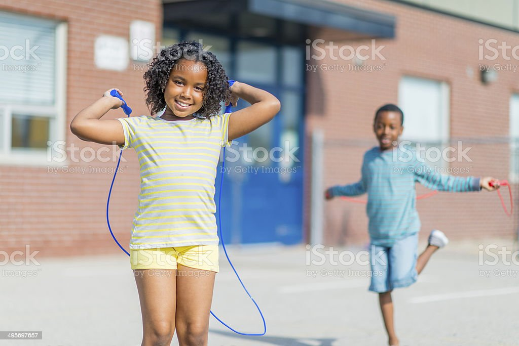 Kids fun stock photo
