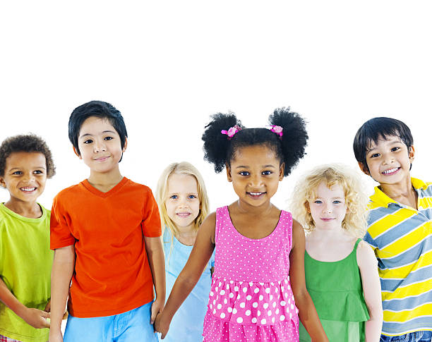 Kids holding hand  preschool student stock pictures, royalty-free photos & images