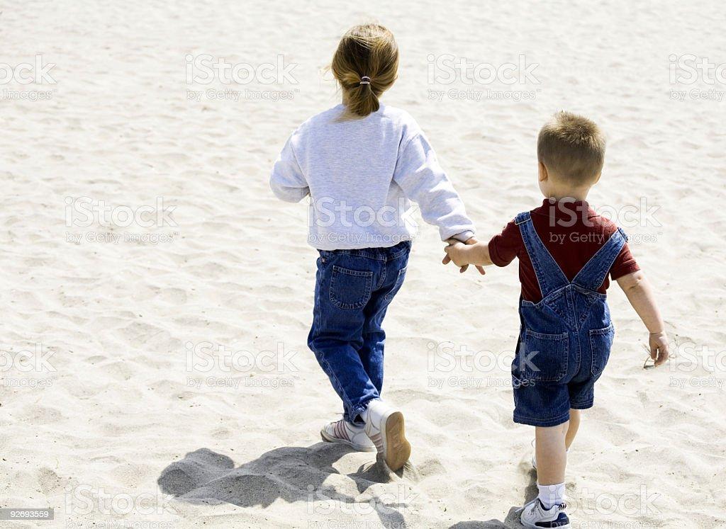 Kinder Hände halten – Foto