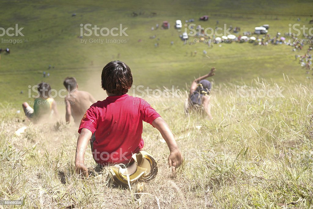 Kids in Pui royalty-free stock photo