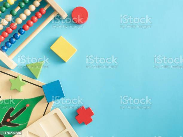 Kids learning concept with stacking toys on blue table background picture id1176297380?b=1&k=6&m=1176297380&s=612x612&h=w8ixjgmu5lsdb7spd7fcyfv6 rspq2ra0ix9sabw yg=