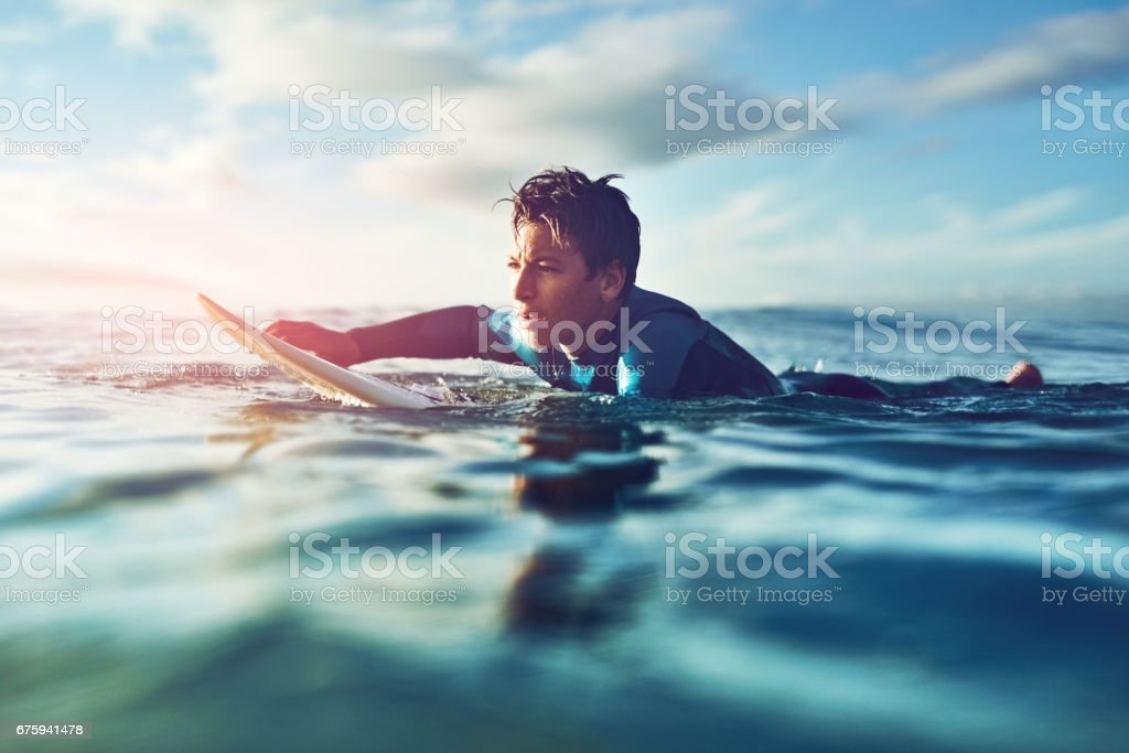 Kids never cease to impress! stock photo
