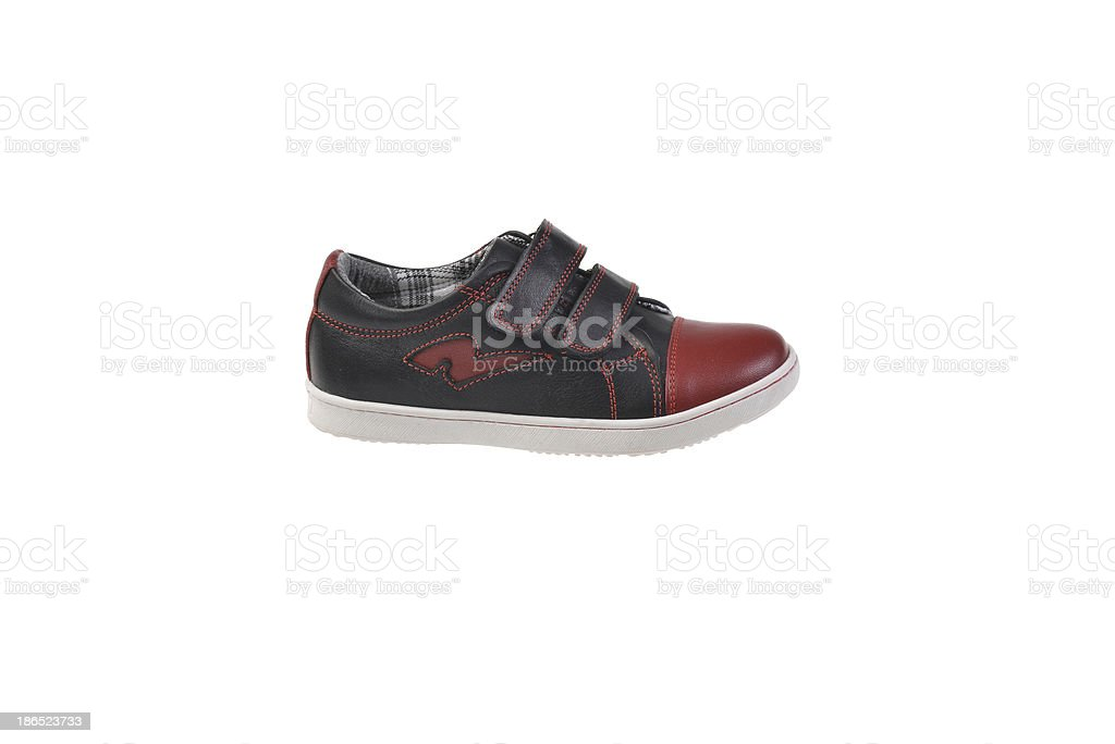 Kids or Toddler shoes royalty-free stock photo