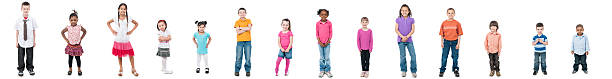 Kids A diverse group of kids 2 3 years stock pictures, royalty-free photos & images