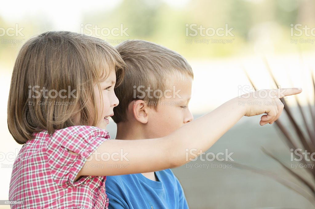 Kids Playing royalty-free stock photo