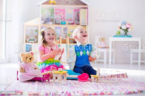 Kids playing with stuffed animals and doll house picture id535458066?b=1&k=6&m=535458066&s=612x612&h=nssemeua eisli pgsrv5r6ljn0xs8gxq2etma8kave=