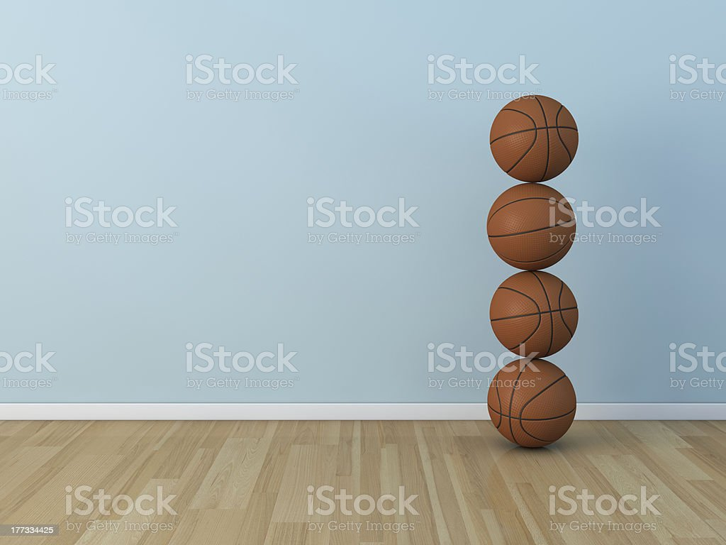 kids room basket ball royalty-free stock photo