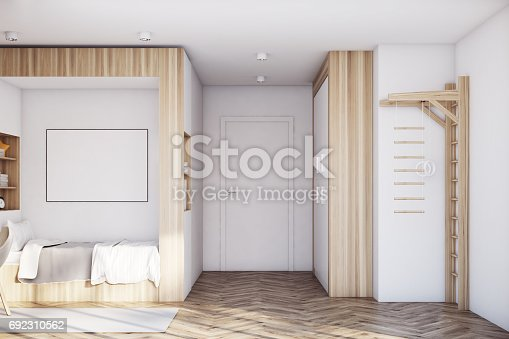 1061427386 istock photo Kids room with poster 692310562