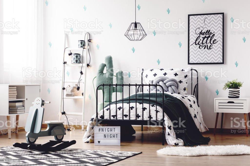 Kinderzimmer Mit Spielzeug Schaukeln Stockfoto und mehr Bilder von ...