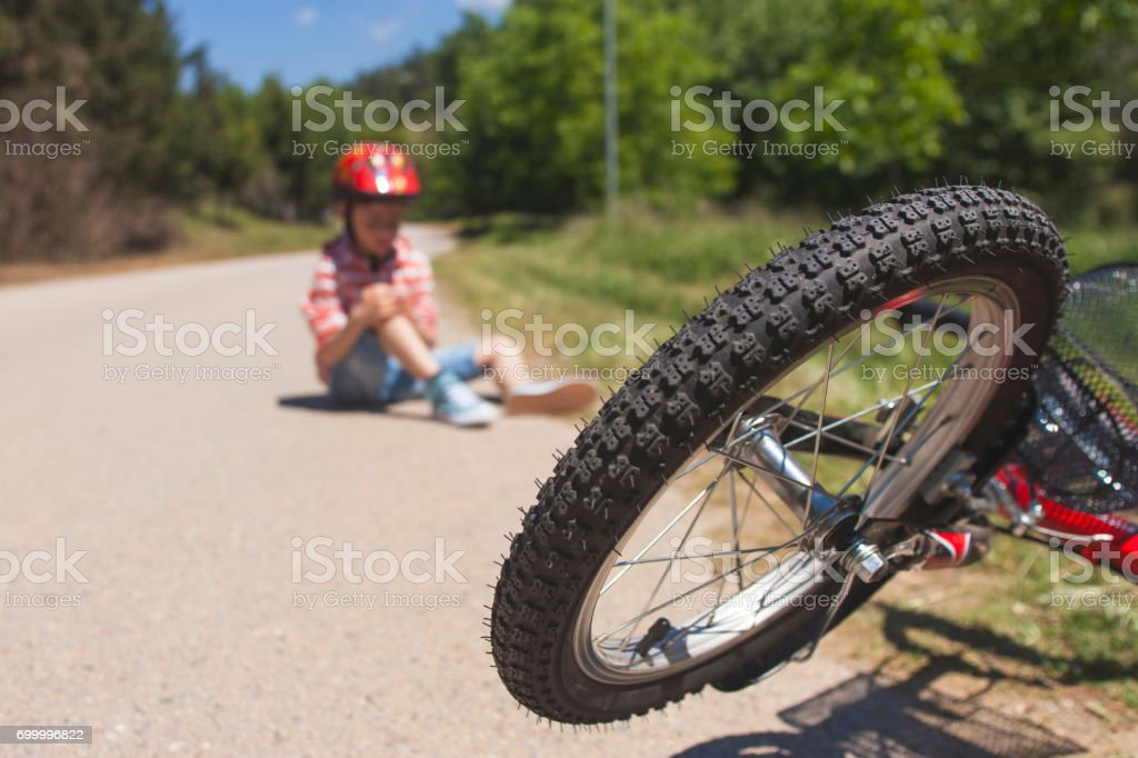 Kids safety concept stock photo