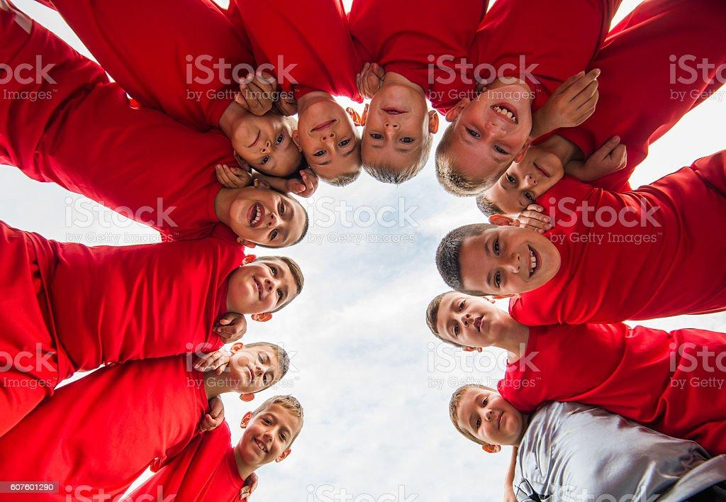 Kinder soccer team – Foto