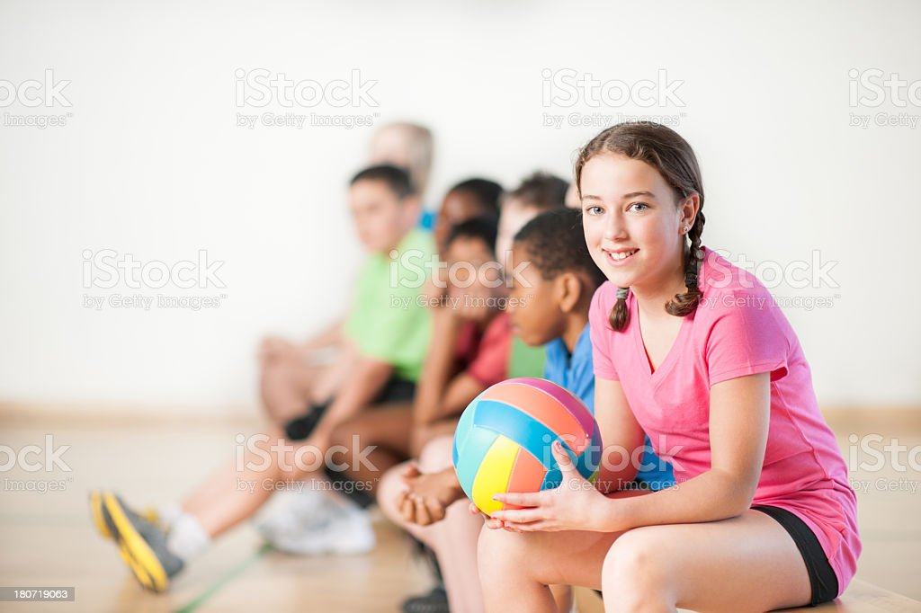 Kids Sports royalty-free stock photo
