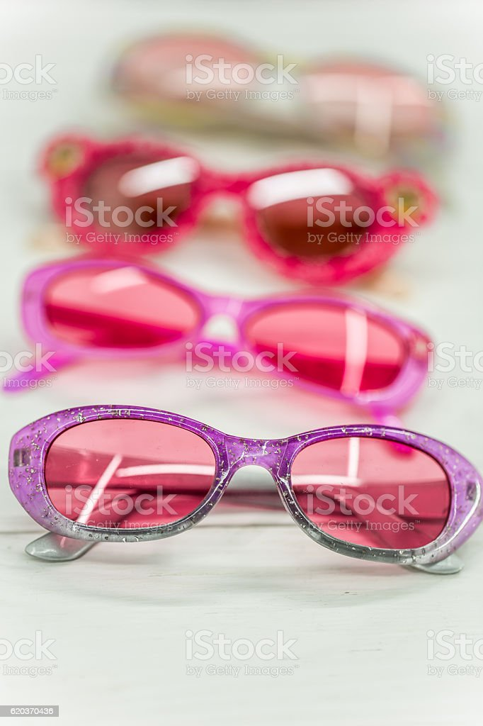 kids sunglasses on white background foto de stock royalty-free