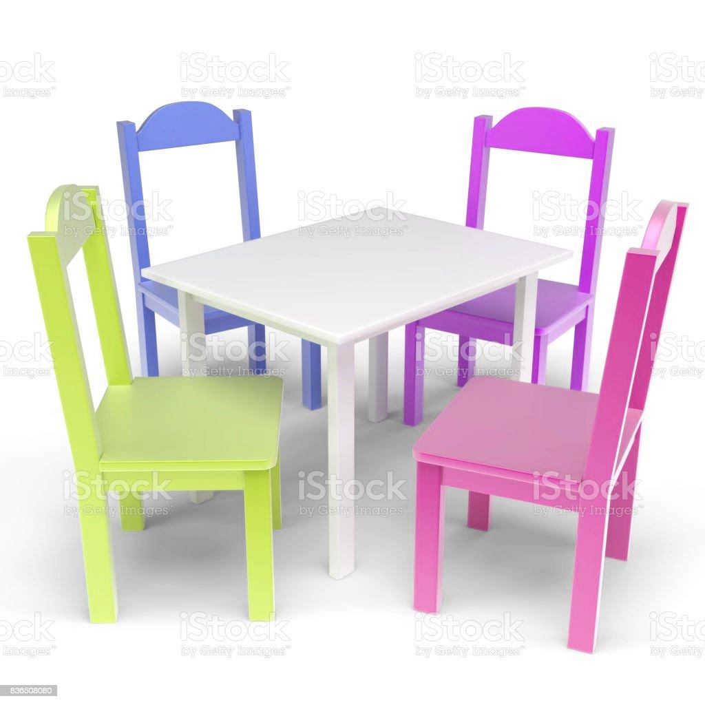 Table Chaise Enfant Libre Banque Ensemble De Droit Et D Photo SUVpzGLqM
