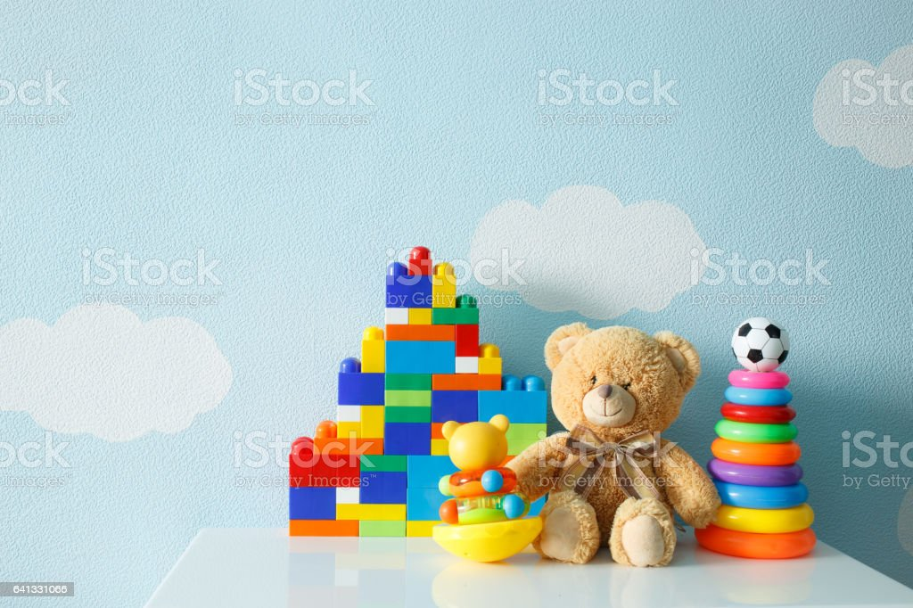 kids toys stock photo