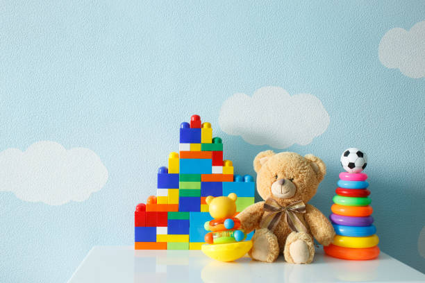 kids toys - toy stock pictures, royalty-free photos & images