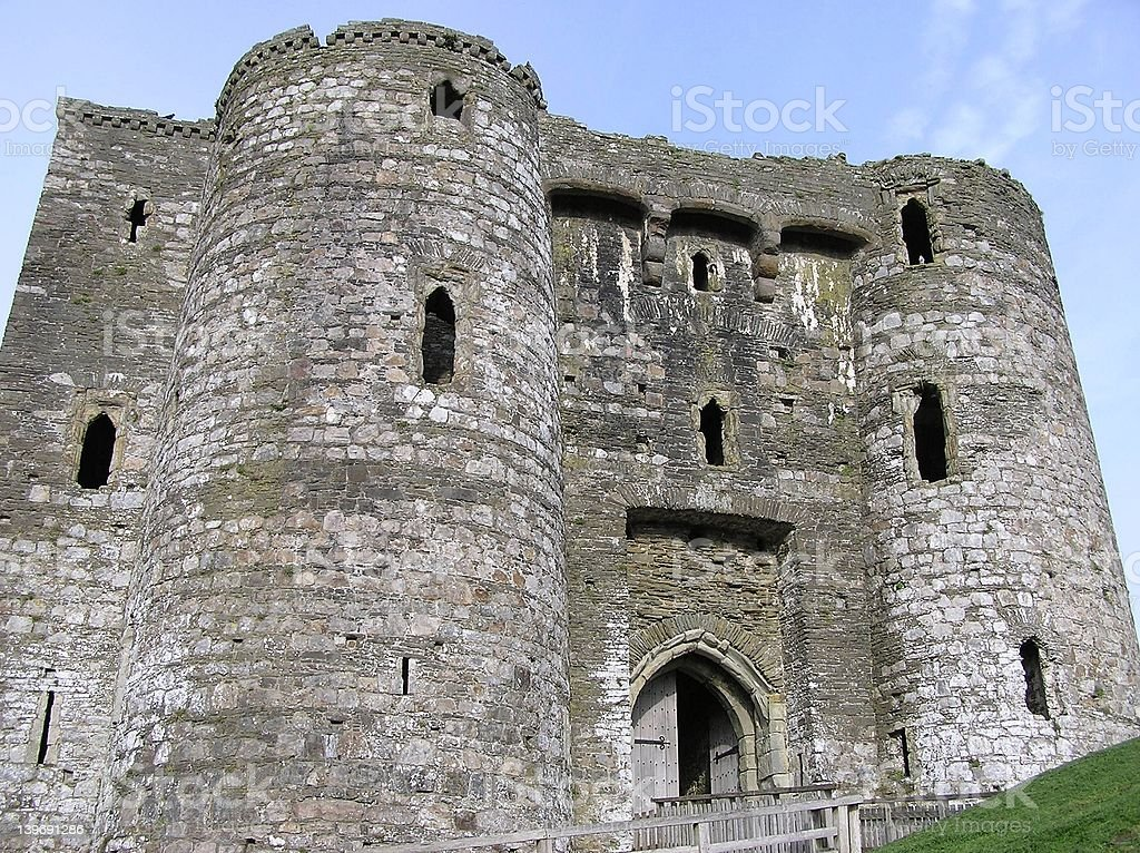 Kidwelly Castle 4 royalty-free stock photo
