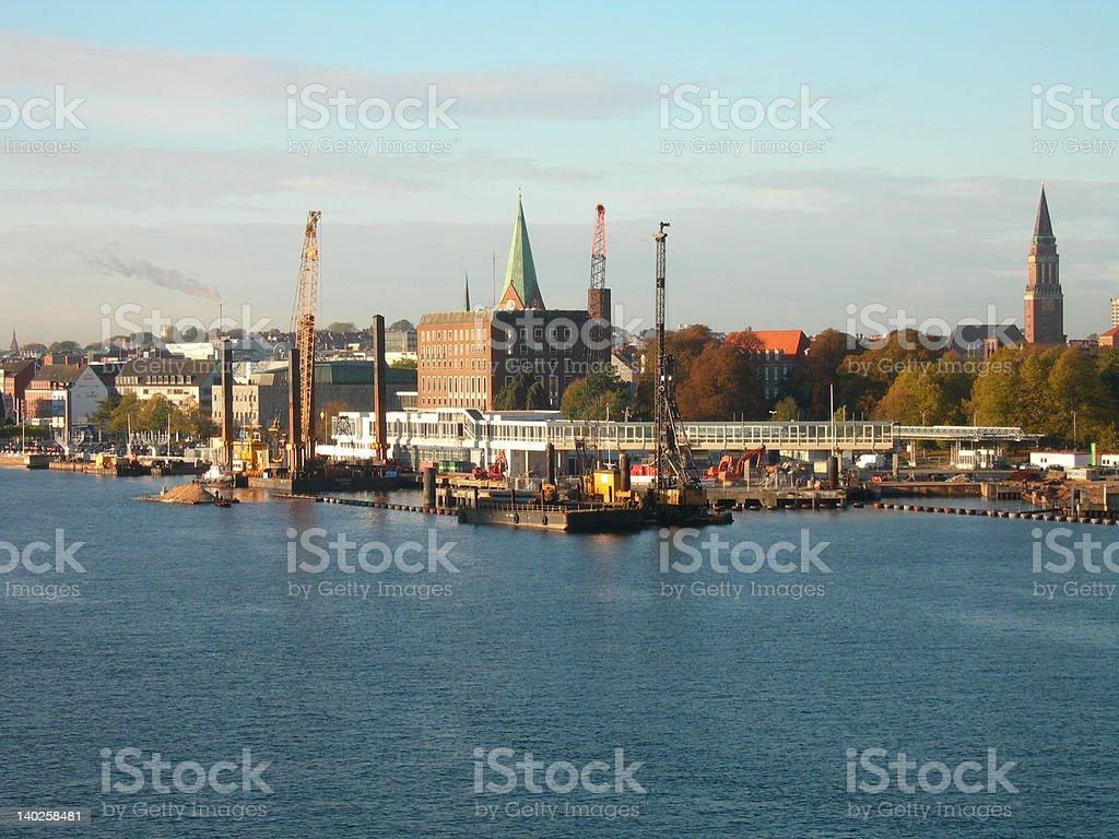 Kiel royalty-free stock photo