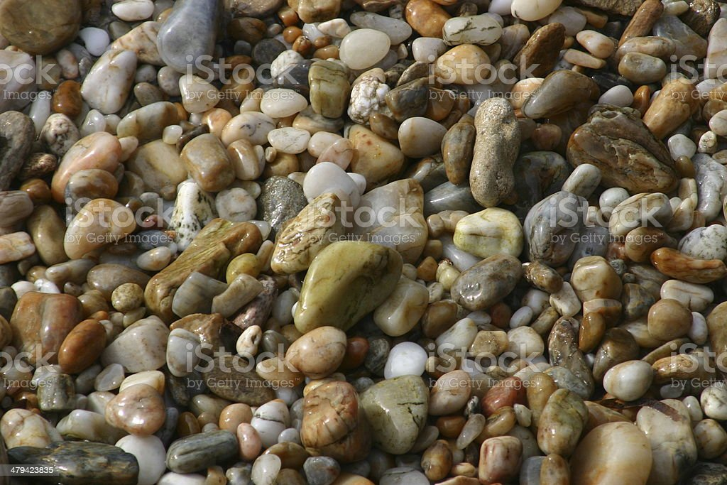 Kieselsteine stock photo