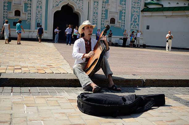 Cтоковое фото Киев busker