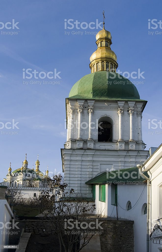 kiev pechersk lavra royalty-free stock photo