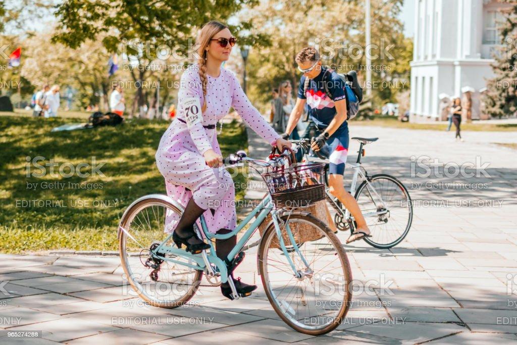 Kiev Ukraine Retro Cruise May 2018 royalty-free stock photo