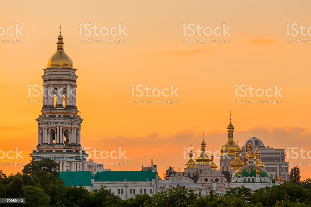 Kiev-Pechersk Lavra in Kiev, Ukraine stock photo