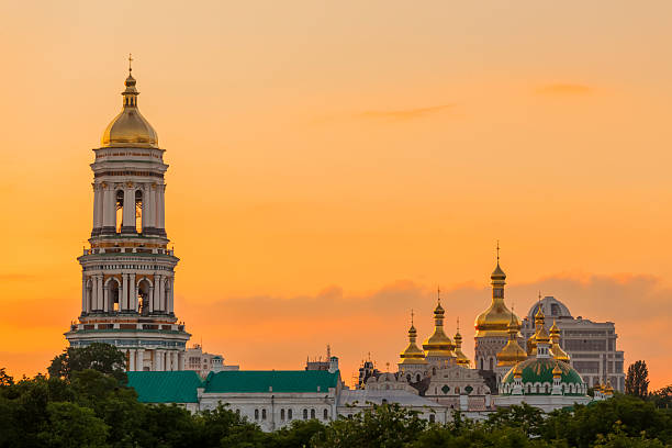 Kiev-Pechersk Lavra in Kiev, Ukraine stock photo