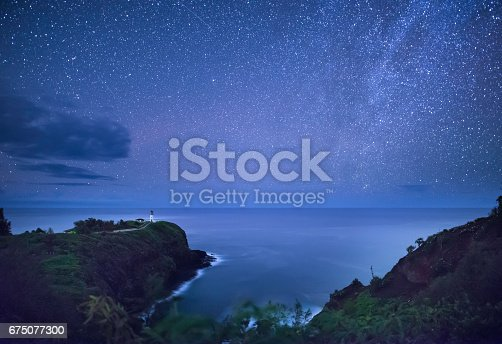 Star - Sky, Cloudscape, Famous Place, Pacific Ocean, Sea
