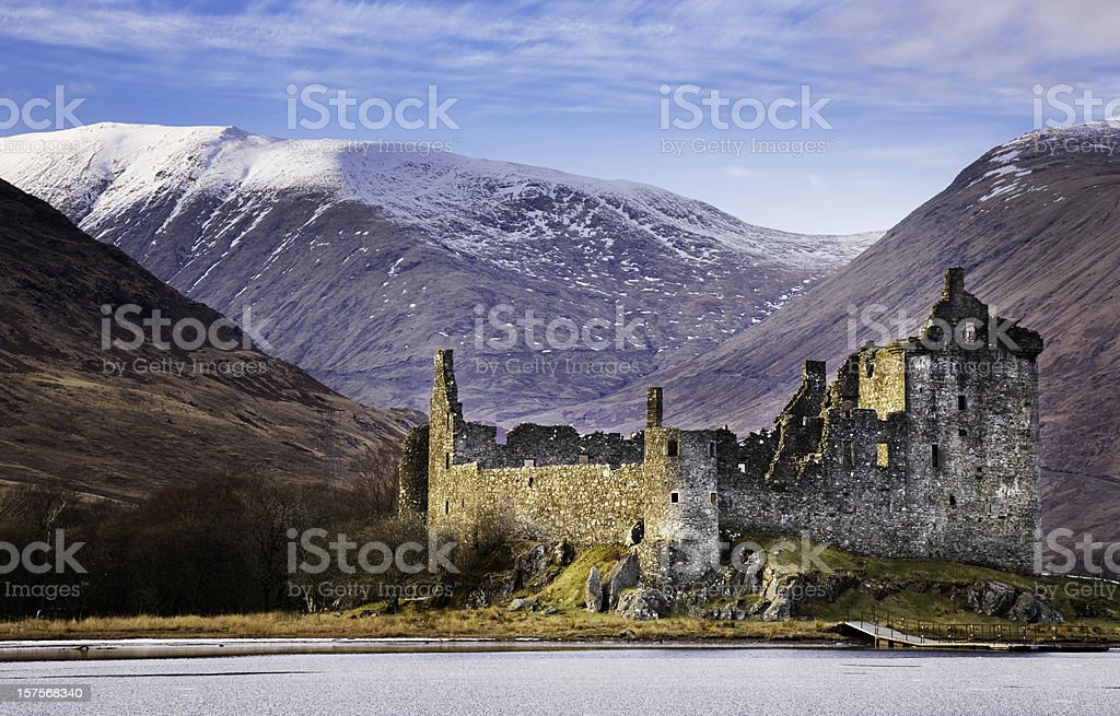 Kilchurn Castle, Loch Awe stock photo