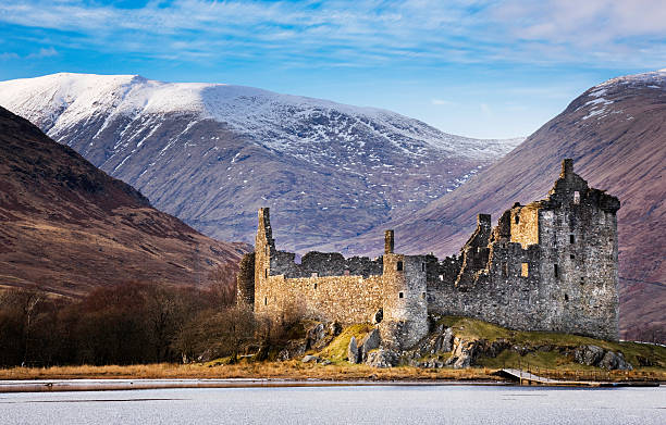 Kilchurn Castle, Loch Awe stock photo