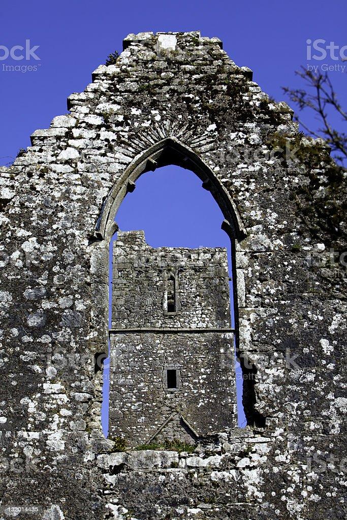 Kilcrea Franciscan Friary Cork Ireland royalty-free stock photo