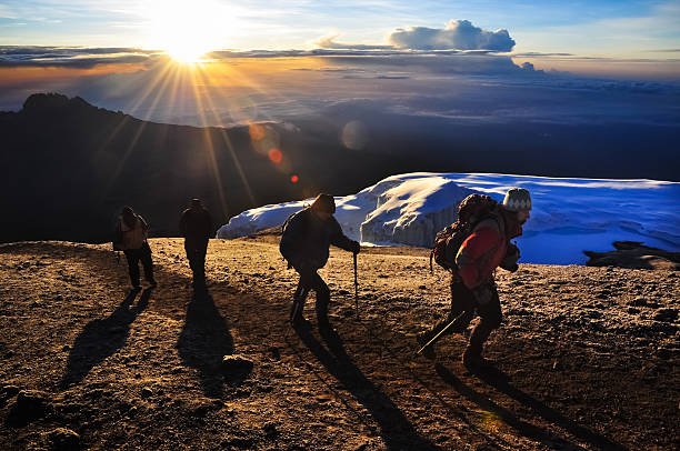 Kilimandscharo Kletterer – Foto
