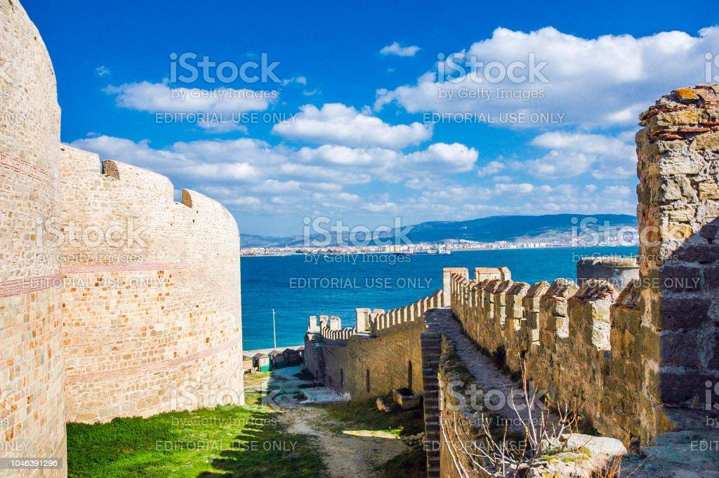 Kilitbahir forteresse et la mer de Canakkale - Photo