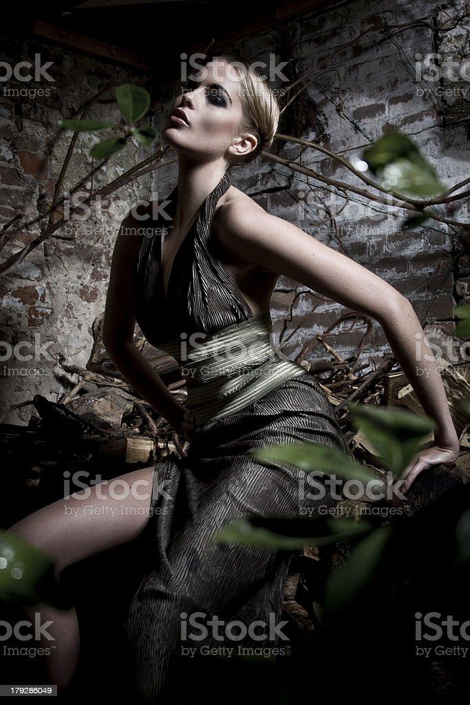 Killer Lady stock photo