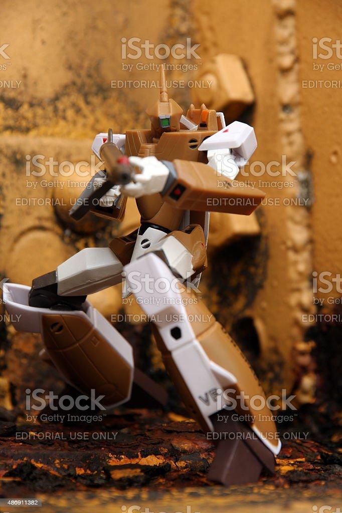 Killer Robot stock photo