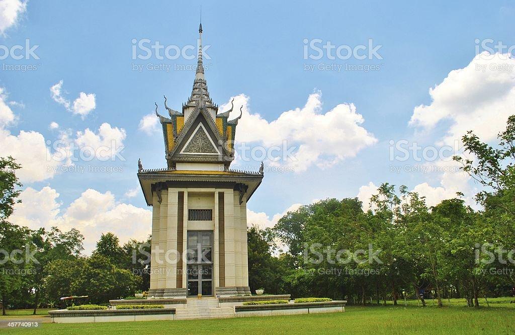 Killing Fields Memorial, Choeung Ek, Phnom Penh stock photo