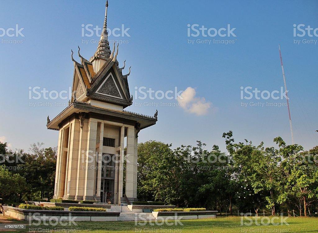 Killing Fields, Phnom Penh, Cambodia stock photo