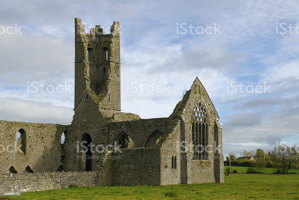 Kilmallock Dominican Priory royalty-free stock photo