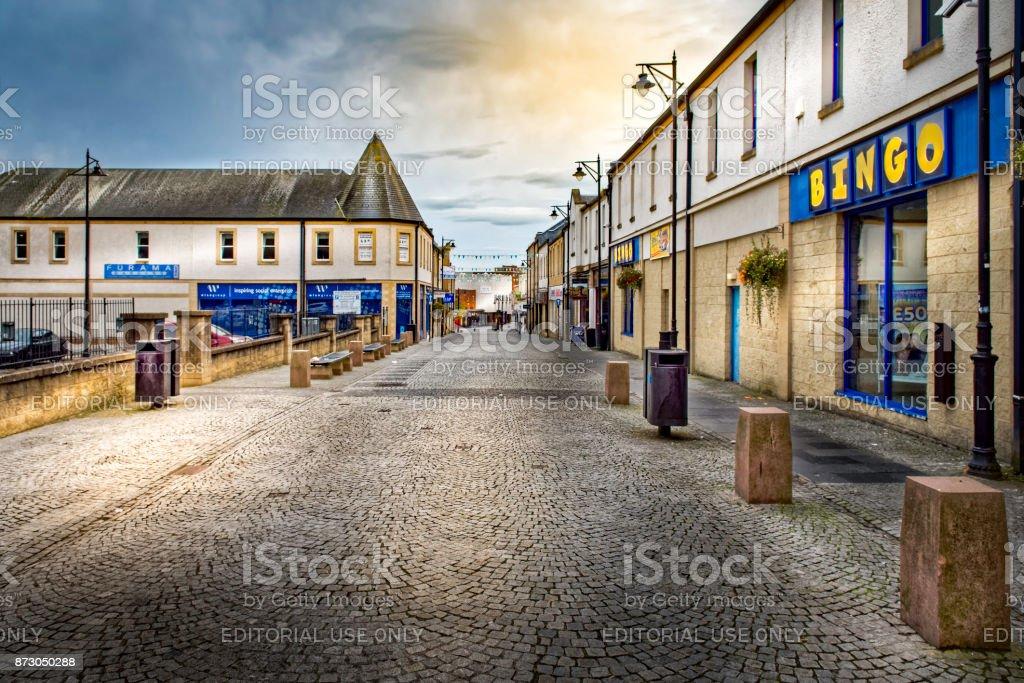 Kilmarnock Precinct stock photo