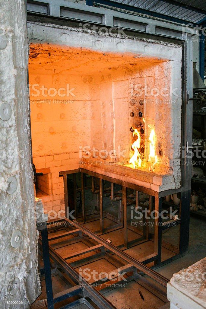 Kiln stock photo