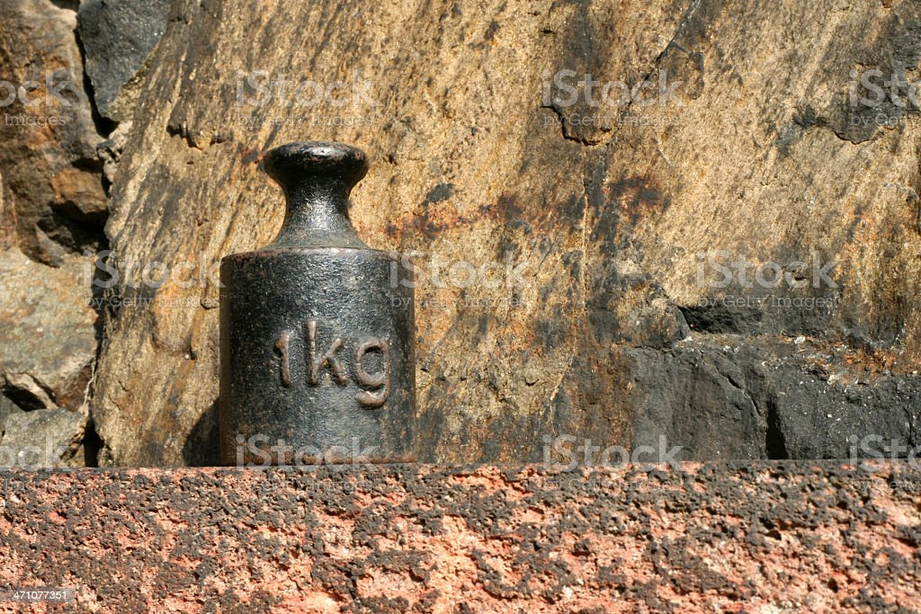 Kilogramm royalty-free stock photo