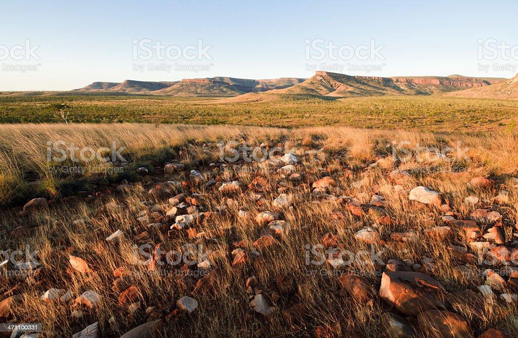 Kimberley Evening stock photo