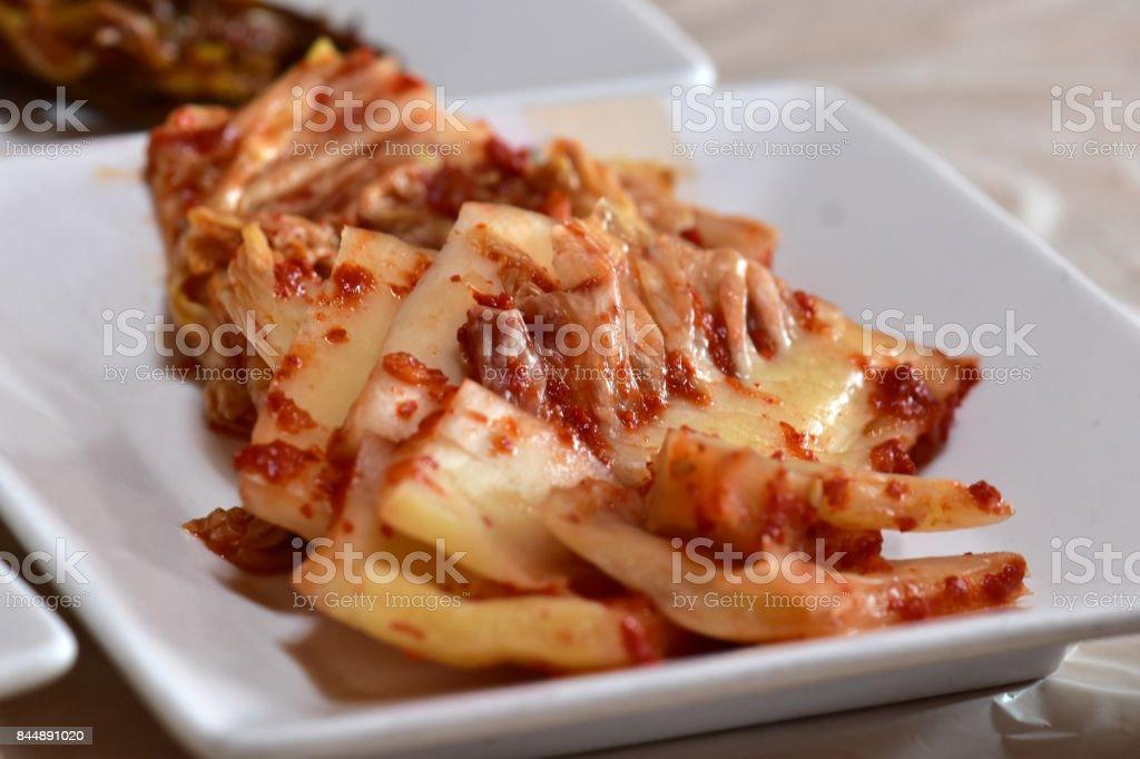 Kimchee stock photo