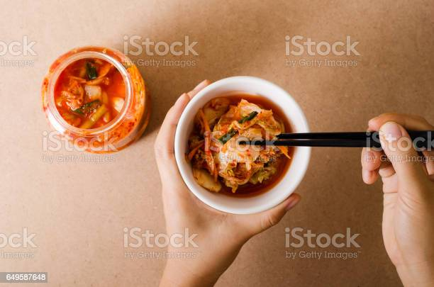 Kimchi Cabbage Stock Photo - Download Image Now